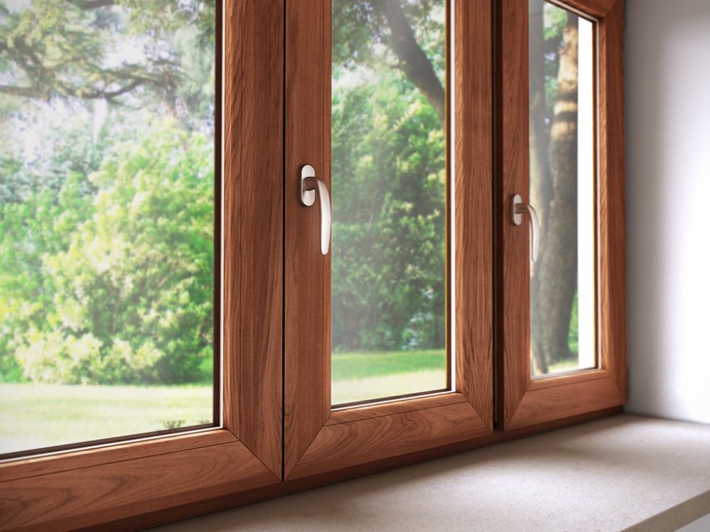 Infissi legno alluminio roma finestre legno alluminio - Vetri colorati per finestre ...